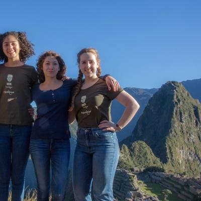 Archaeology volunteering for teenagers in Peru also includes weekend trips to places like Machu Picchu.
